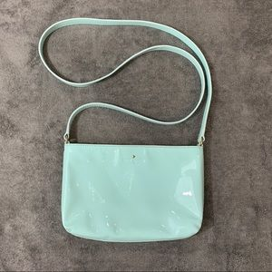Kate Spade Bag Zip Top Crossbody Sky Blue
